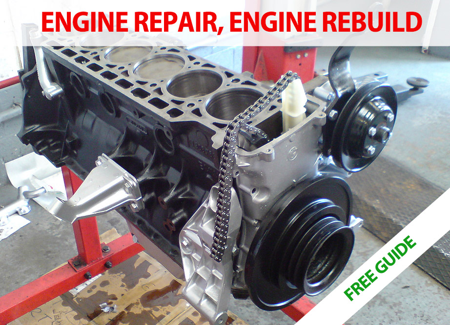 Engine repair, engine rebuild