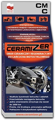 Motorcycle chain lube grease